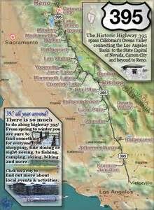 highway 395 california map et tu brute bunkhouse tales
