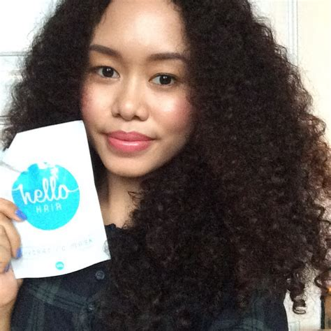 Handuk Keramas Rambut Hello the curly journal hello hair hydrating mask