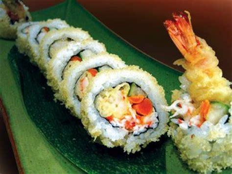 sushi roll  tempura shrimp recipe | sparkrecipes