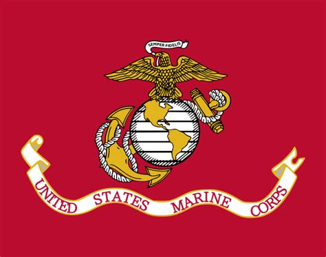 color marine file flag of the united states marine corps svg