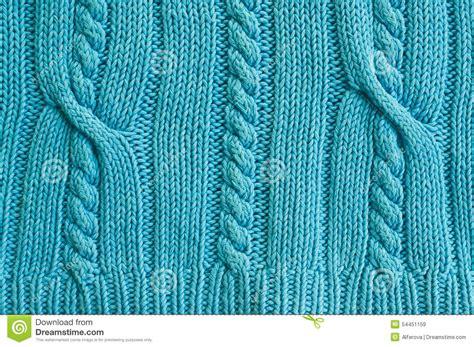 sweater pattern up close cyan backround knitted sweater stock photo image 54451159