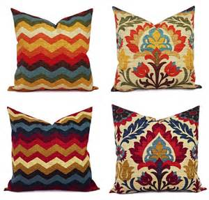 two 20 x 20 inch pillow covers decorative by castawaycovedecor