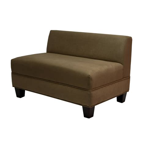 loveseat armless armless loveseat sectional modern home interiors