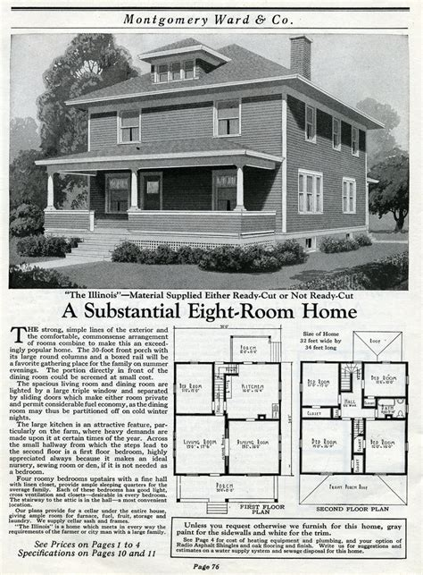 montgomery ward house plans the daily bungalow 1917 montgomery ward mail order farm