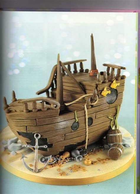 barco pirata tarta paso a paso barco pirata tartas pinterest barco