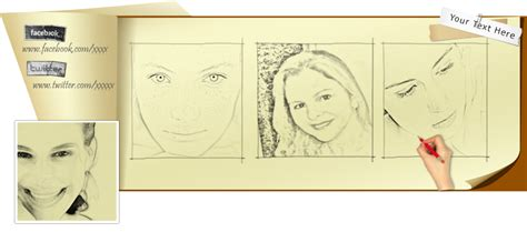 doodle draw fb timeline cover drawing psd by wsaconato on deviantart