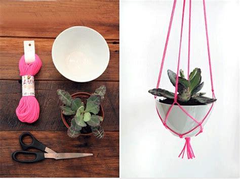 Diy Hanging Plant Holder - ruby tuesday diy hanging plant holder
