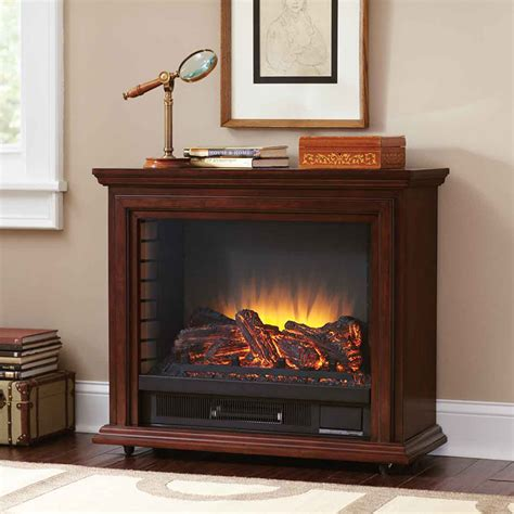 Mobile Fireplaces by Pleasant Hearth Infrared Mobile Fireplace