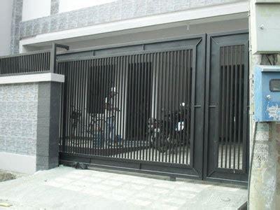 contoh gambar model desain pagar minimalis kamar minimalis