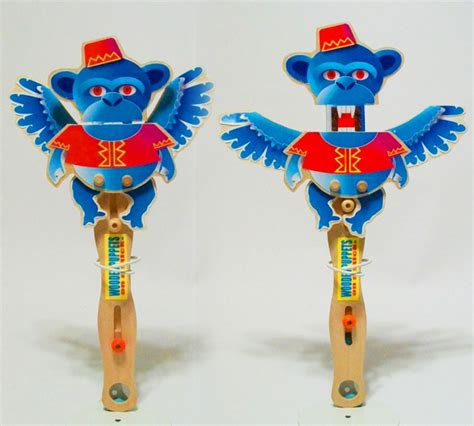 christmas wooden puppets  puppet theater wizard  oz