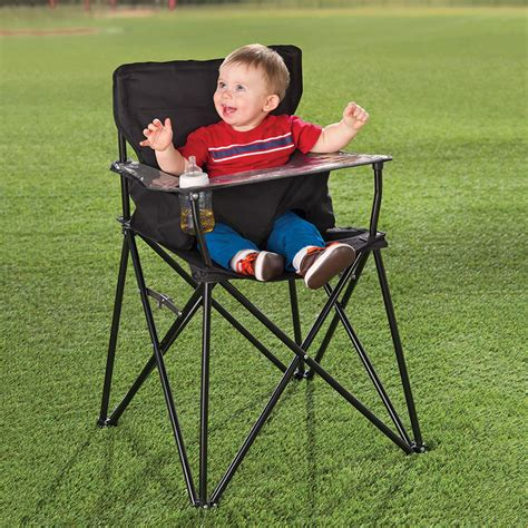 High Back Go Anywhere Chair by Ciao Baby Packable Go Anywhere High Chair The Green