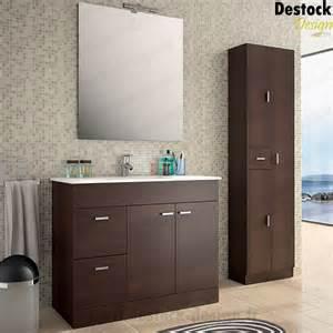 meuble salle de bain motil wengue 100 cm