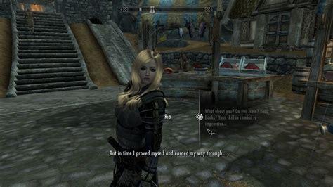 skyrim ria mod ria companion revised fleshed out companion more dialogue