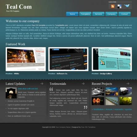 free open source website templates free css templates free css website templates