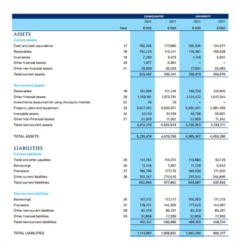 income statement free archives fine word templates