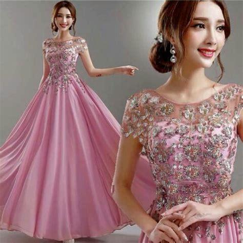 Gaun Pesta Import 1712031 Gaun Malam Dress gaun pesta longdress baju dress terbaru untuk