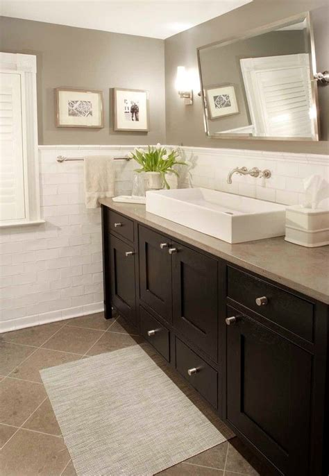 hall bathroom tiles 25 best ideas about dark vanity bathroom on pinterest