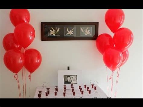 wedding anniversary decoration ideas  home youtube