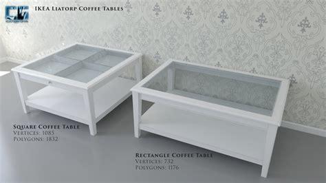 Ikea Liatorp Coffee Table 3d Model Ikea Liatorp Coffee Tables