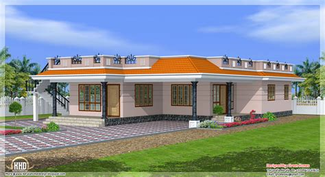 house designs single storey kerala style single storey 1800 sq feet home design home