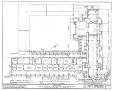 santa barbara mission floor plan mission santa barbara gallery citizendium