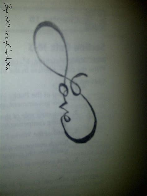 infinity tattoo love you more love infinity by xxlizzychickxx on deviantart