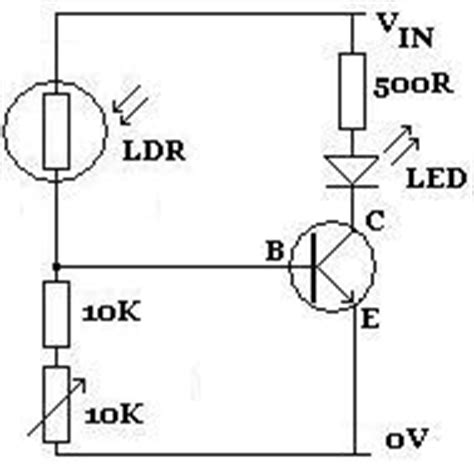 light dependent resistor simple circuit light dependent resistor reuk co uk