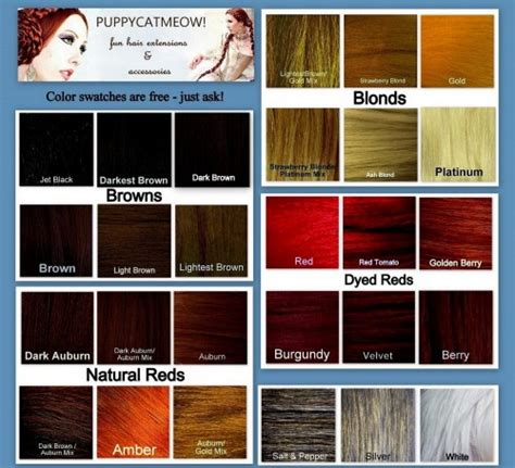 hair color chart for braids braid hair extension accessory tribal bellydance costume
