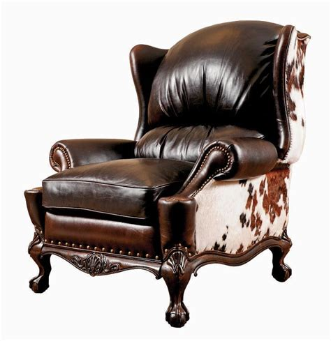 Cowhide Recliner 17 best ideas about cowhide chair on cow hide cowhide furniture and western living