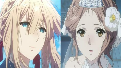 violet evergarden episode  review  beautiful day   wedding youtube