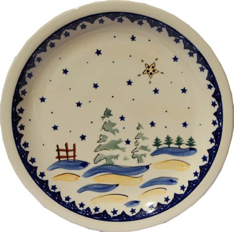 polish pottery dinner plate pattern number 233ar shop houzz zaklady ceramiczne boleslawiec polish pottery