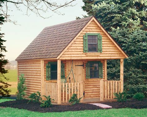 Juniors Log Cabin by Playhouses For Children Children Playhouses More