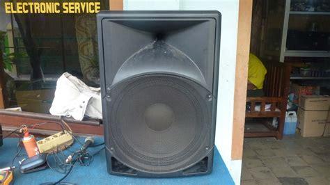 Speaker Aktif Gmc Rusak memperbaiki speaker aktif monitor rusak tidak bunyi