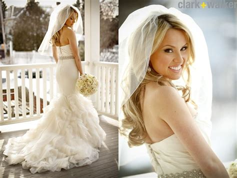 wearing my hair down for the wedding but ask emmaline hair down with veil love it my wedding pinterest