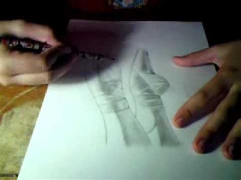 imagenes a lapiz de ballet dibujando zapatillas de ballet point shoes youtube
