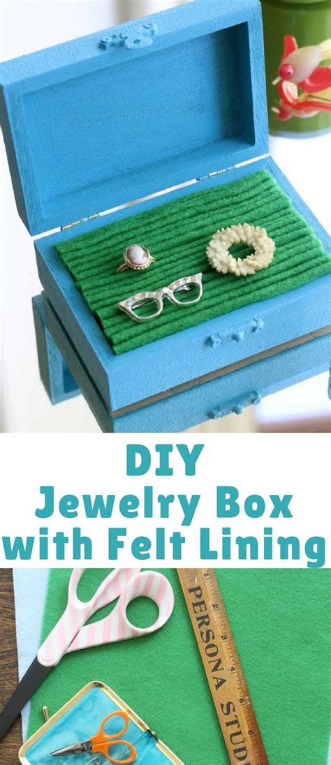 easy to make jewelry box 25 best ideas about small jewelry box on