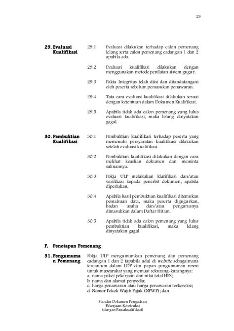 format berita acara pemeriksaan pekerjaan konstruksi sbd pekerjaan konstruksi pascakualifikasi