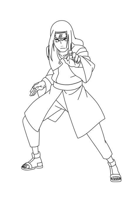 anime naruto coloring pages luiscachog me dibujos lineales sobre personajes otaku zone 3djuegos