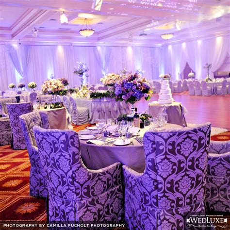 purple and silver make a glamorous combination in the page 6