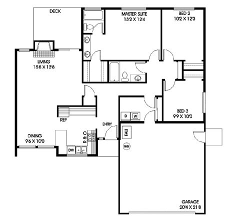 riverfront rustic ranch home plan 085d 0098 house plans