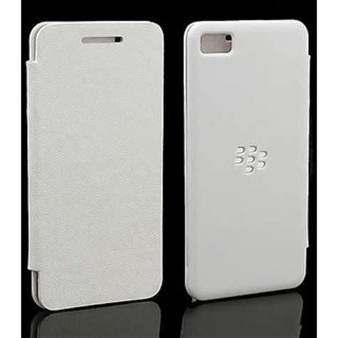 Cassing Blackberry Z10 Kesing Bb White Housing blackberry z10 flip cover white