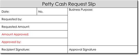 petty cash receipt templates  formats  word