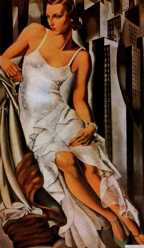 Tamara De Lempicka by Tamara De Lempicka On American Deco