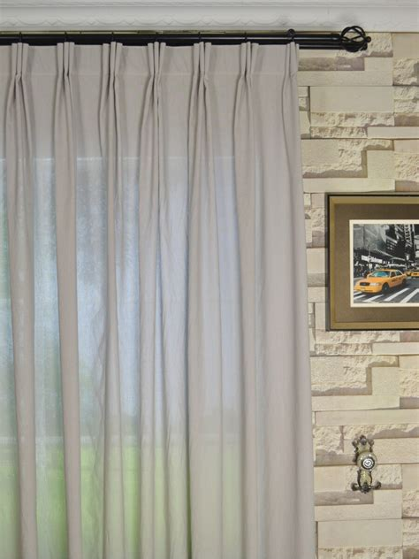 specialty curtains qyk246sba eos linen gray black solid versatile pleat sheer