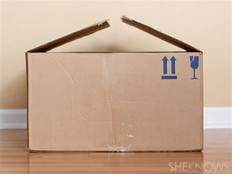 how to make a box for school turn a plain cardboard box into a cool playhouse