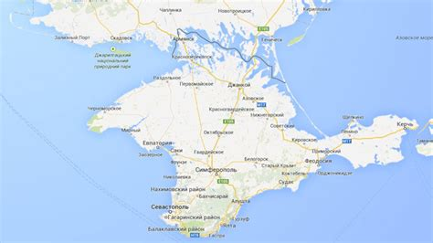 Russia Google by Google Maps Marks Crimea As Russia But Only In Russia Rt