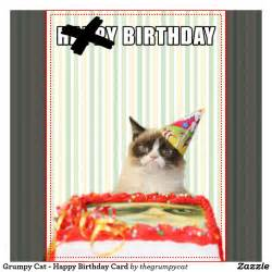 the gallery for gt grumpy cat birthday ecard