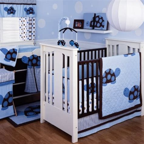 Turtle Crib Bedding Set Line Mod Turtle 4 Crib Bedding Set Contemporary Baby Bedding By Hayneedle