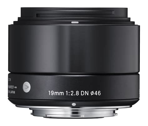 sigma 19mm f 2 8 dn wide angle lens