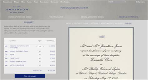 smythson wedding invitations luxury daily